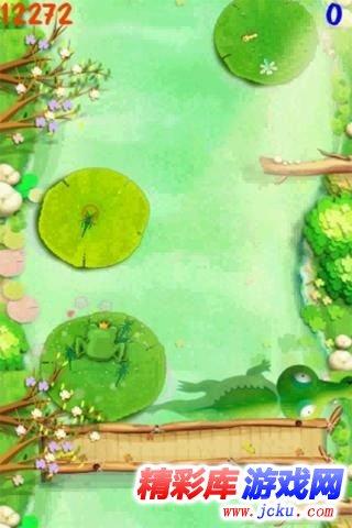 青蛙跳河游戏截图3