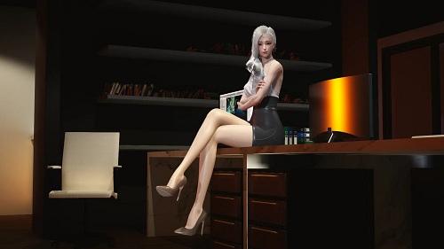 甜心选择2银发大胸紧身裙女秘书MOD v1.0