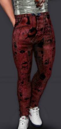 模擬人生4男士寬松的帥氣牛仔褲MOD v1.0