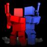 3D绔��瑰��� Cubemen
