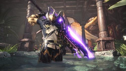 怪物猎人:世界冰原天彗龙盾斧MOD v1.0