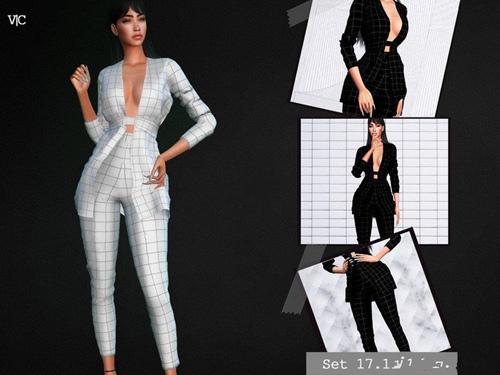 模拟人生4女性的商务短裙MOD v1.0