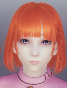 AI少女橙色短發乖巧蘿莉MOD v1.0