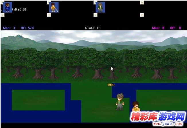 lf2小斗士游戏高清截图3