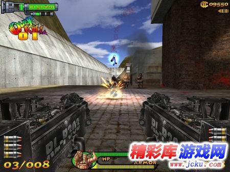 第一人称3d单机游戏_单机游戏:喋血双雄 3D 第一人称 在哪里下载啊? 一个男的背着 ...