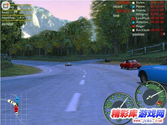 《极品飞车5》游戏高清截图1
