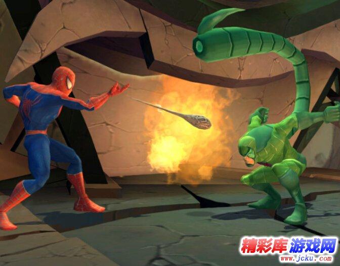 《蜘蛛侠之敌友难辨》游戏高清截图3