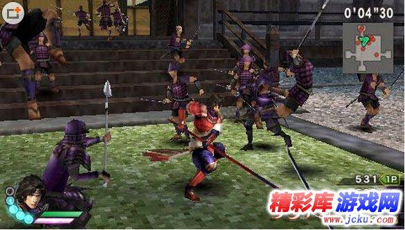 《战国无双3Z特别版》游戏高清截图2
