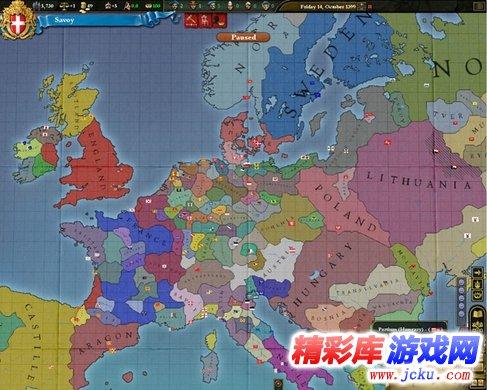 欧陆风云3神风游戏高清截图1