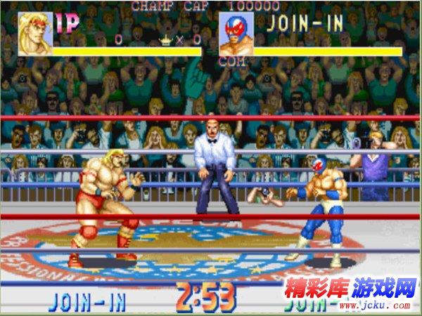 摔跤霸王游戏高清截图3