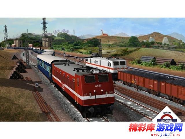 印度火车模拟游戏截图1