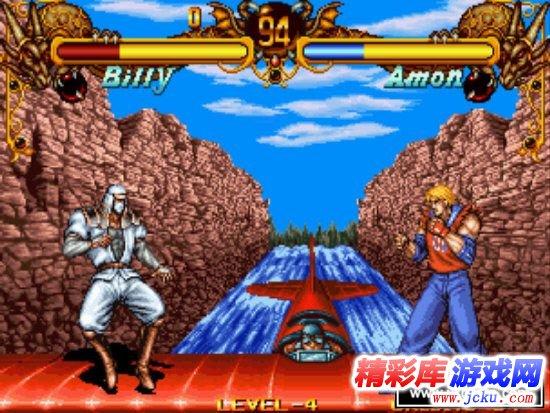 双截龙NeoGeo 游戏截图1