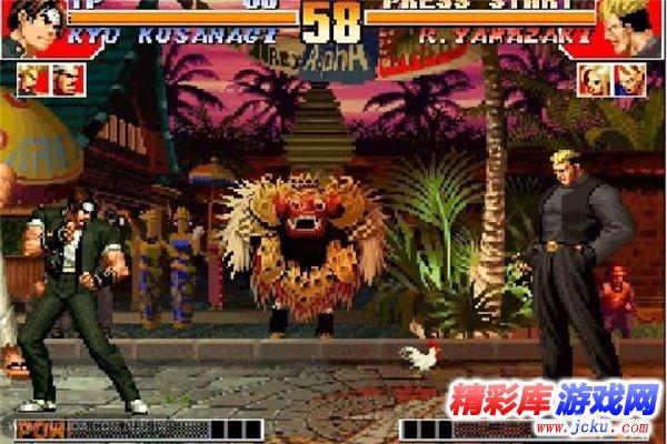 拳皇97降龙版游戏截图2