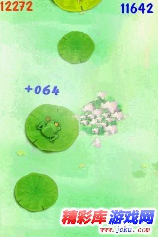 青蛙跳河游戏截图1