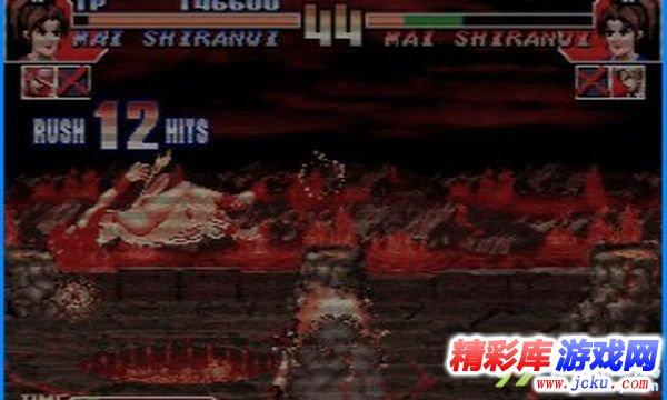 拳皇97游戏截图1