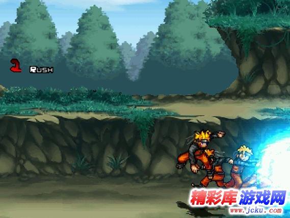 火影格斗mugen整合版全人物汉化游戏截图1