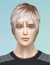 模拟人生4 男性帅气发型MOD