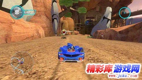 索尼克全明星赛车:变形游戏截图3
