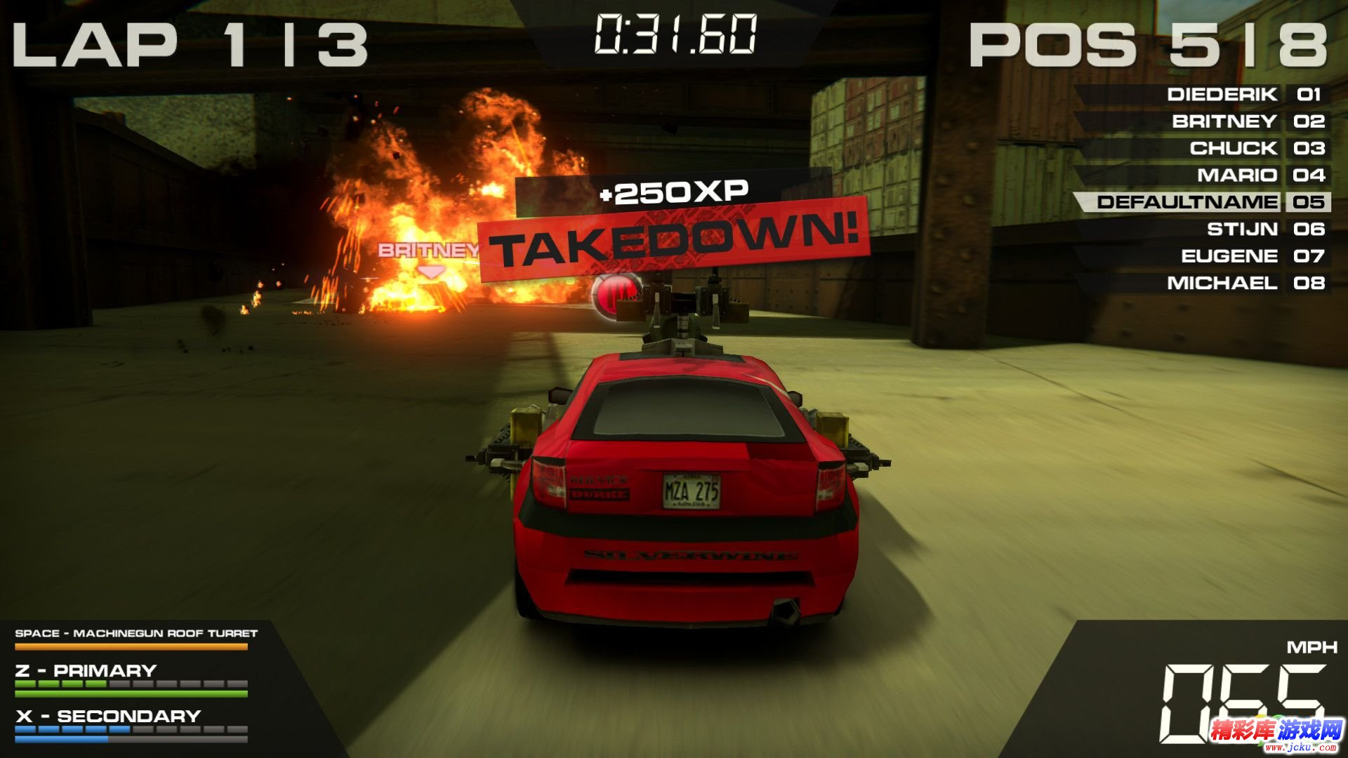 火爆竞速5:高清版截图3