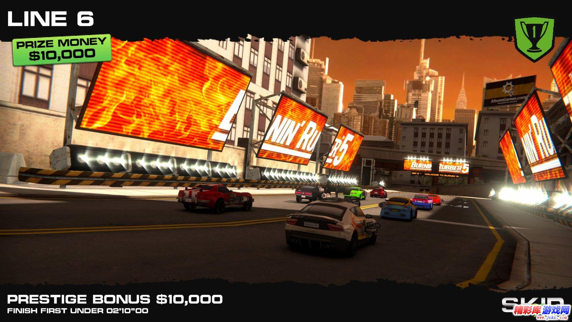 火爆竞速5:高清版截图1